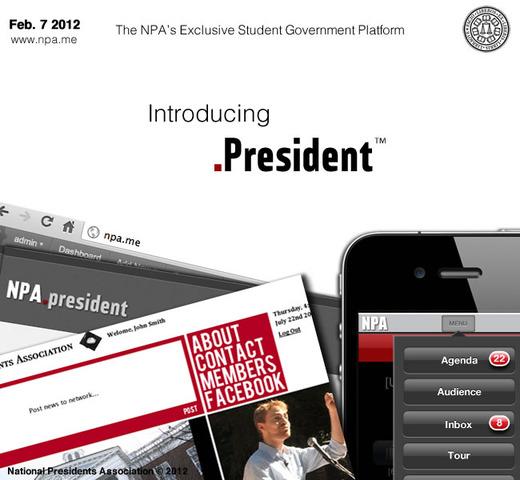 Introducing .President (NPA)