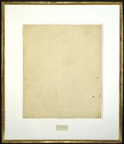 Robert Rauschenberg - Erased De Kooning Drawing