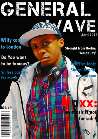 All parts of the music magazine finished and uploaded to the Wix site