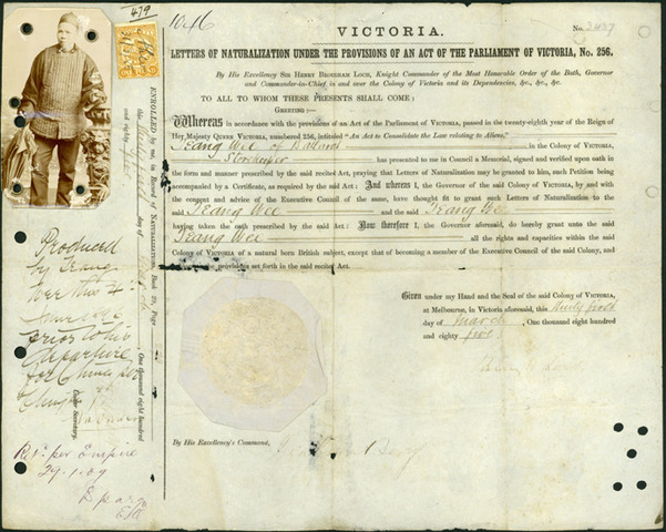 1851 Victoria became a colony