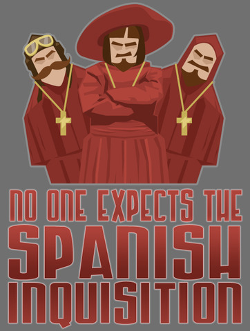 Spanish Inquisition Begins