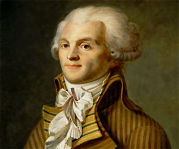 Death of Robespierre & end the Terror