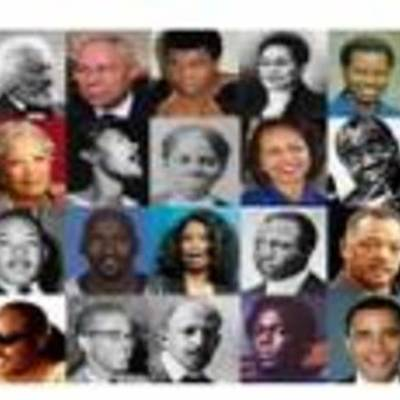 Our Famous African Americans timeline