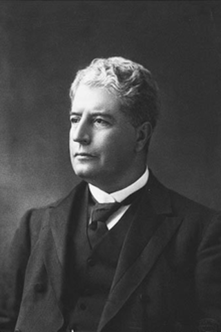 1901 Edmund Barton, the first Australian P.M