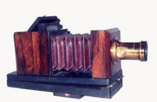 The first daguerreotype was created