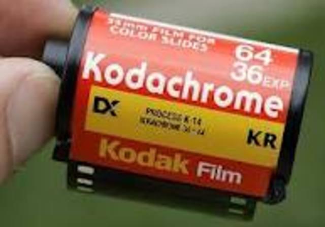 Kodrachrome film was released