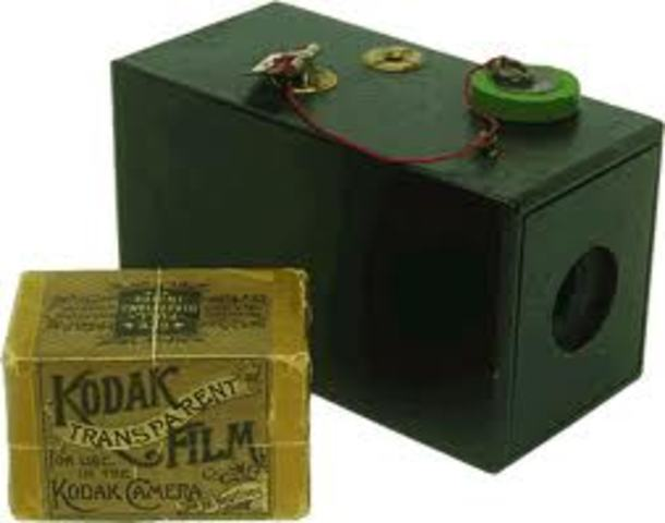 photographic film was invented