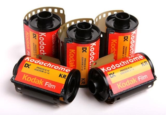 kodachrome film was released