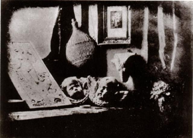 First daguerreotype was created