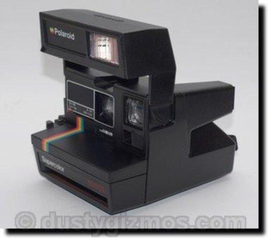 polaroid camera appeared