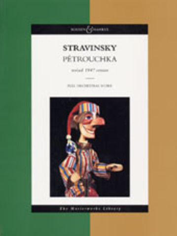 "Paris premiere of ""Petrushka."""