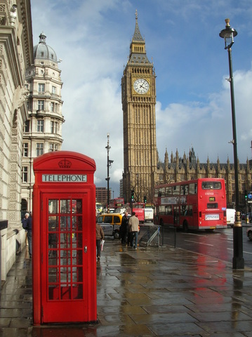 Viajo a Londres.