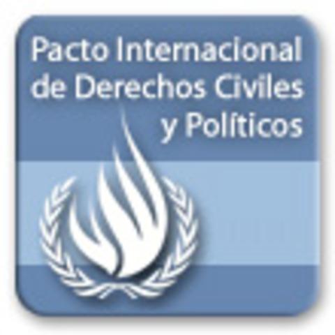 Pacto Internacional por los Derechos Civiles y Políticos -PIDCP-