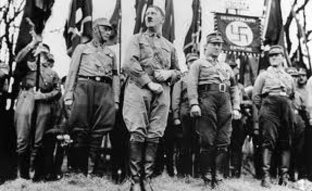 Hitler led the re-launch and reform of the Nazi party