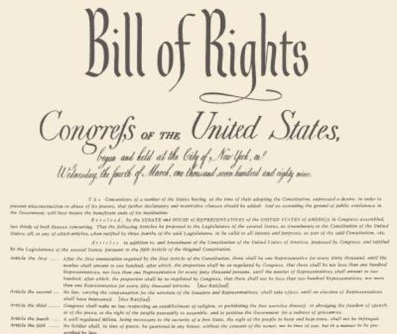 Carta Magna (Bill of Rights) Inglaterra