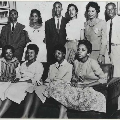 Little Rock Nine timeline