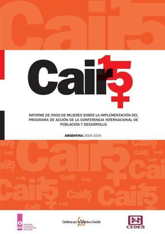 """Conferencia Mundial """"Población y Desarrollo - El Cairo"""