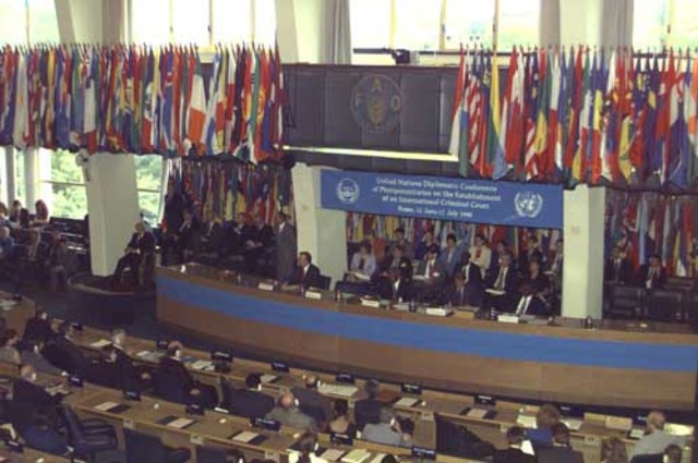 Conf. Diplom. de Plenipotenciarios de la ONU sobre el establecimiento de una CPI - Roma Italia