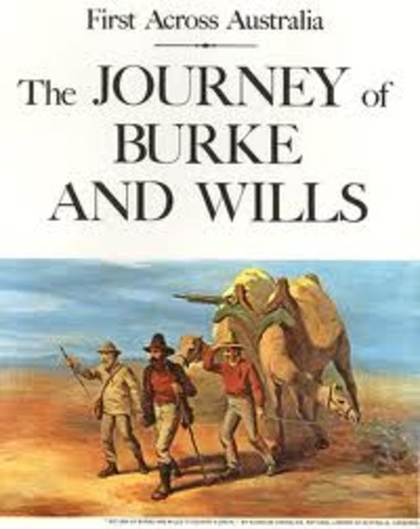 Burke and Wills expedition across Australia.