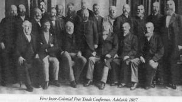 The first intercolonial congress of trade unions is held