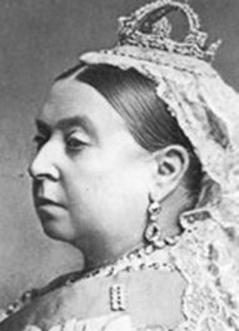 Queen Victoria proclaims the commonwealth of Australia on the 16th of September.