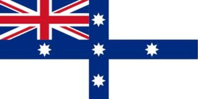 First Federal Flag designed.