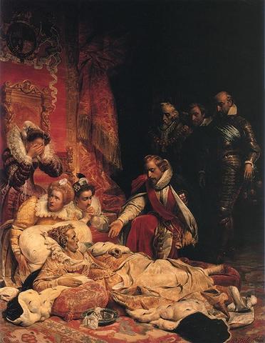 Queen Elizabeth I dies