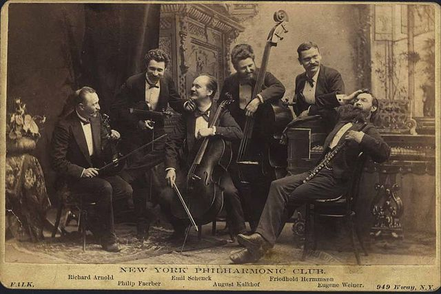 The New York Philharmonic Orchestra was founded.