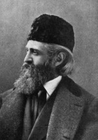 Leopold Damrosch, German- American comductor, born