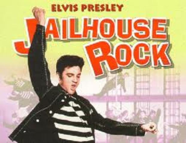 """Everybody in the whole cell block was dancin' to the jailhouse rock"""