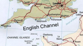 The English Channel timeline