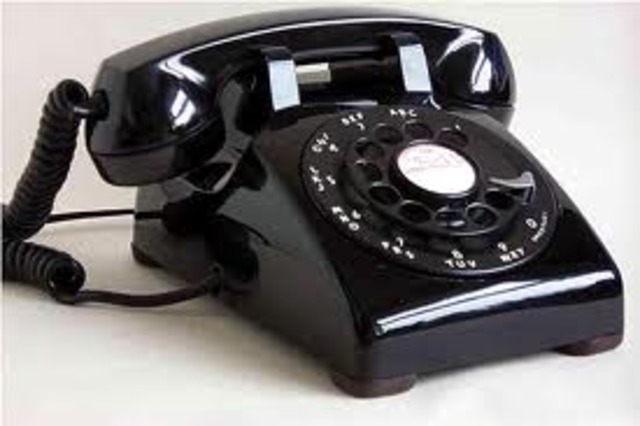Home telephones become available