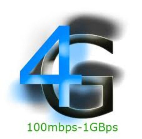 4G mobile available