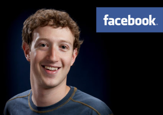 Mark Zuckerberg is born