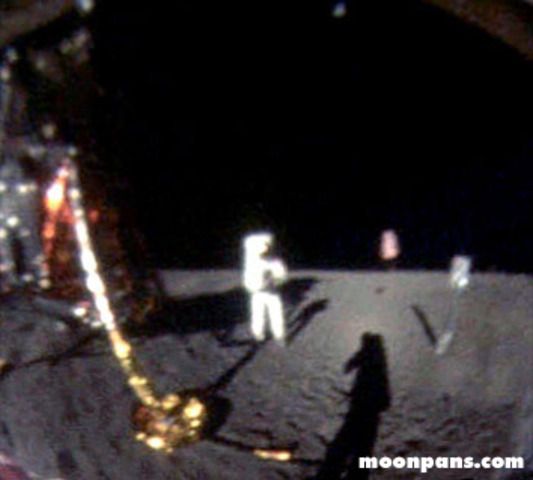 the first men to walk on the moon