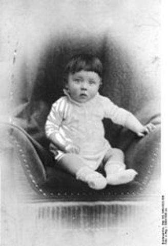 Adolf Hitler was born