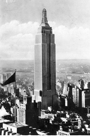 Empire State Building Opens