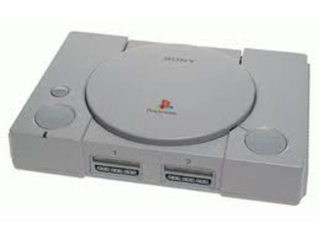 First play station