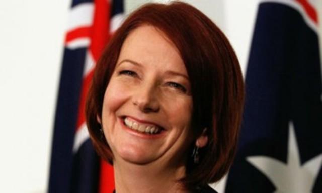 Julia Gillard is elected
