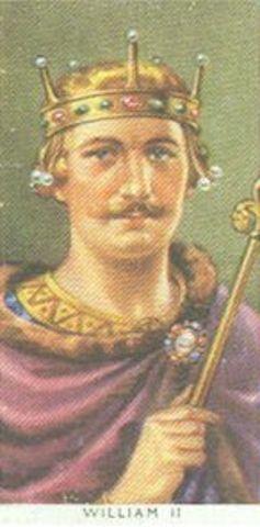 William II of England gets his coronation