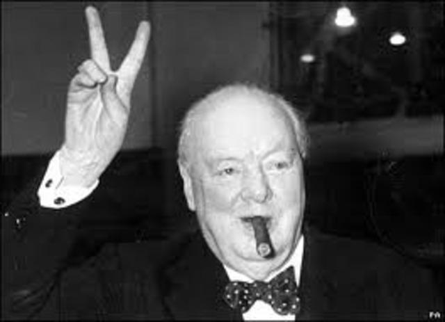 Winston Churchill becomes UK prime minister