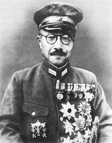 General Hideki Tojo becomes Japanese prime minister