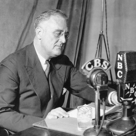 Roosevelt does the Four Freedoms speech, about the future