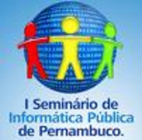 I SEMINARIO NACIONAL DE INFORMATICA NA EDUCACAO
