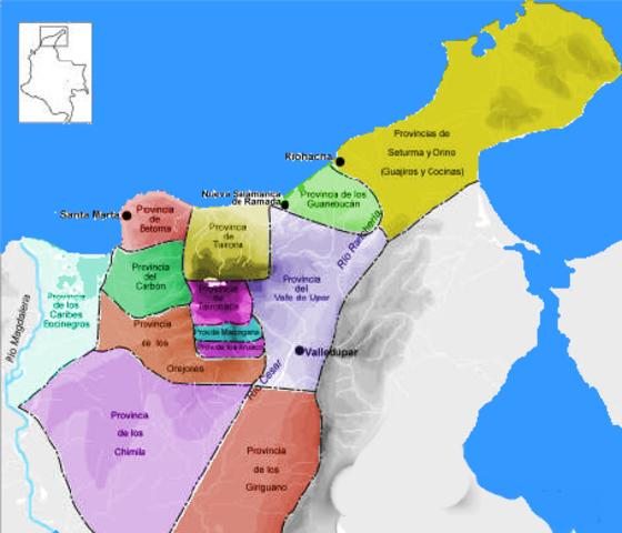Primeras divisiones territoriales