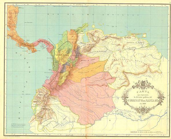 Las Provincias Unidas de la Nueva Granada