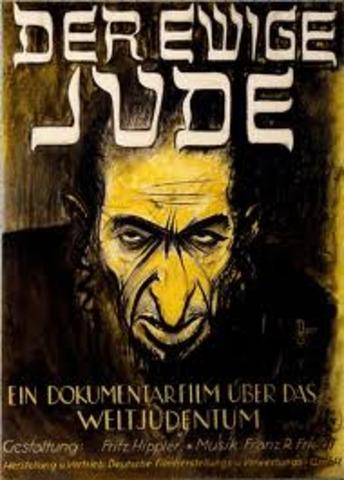 Hitler becomes prejudice against Jews.