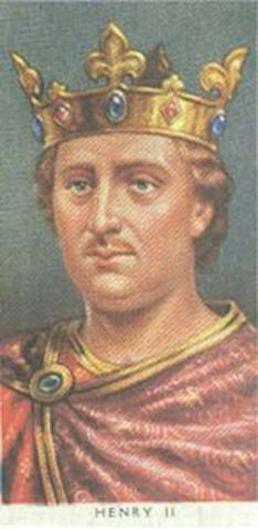 Henry II reigns King of England