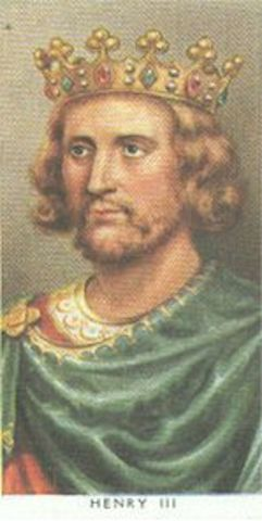 Henry III reigns King of England