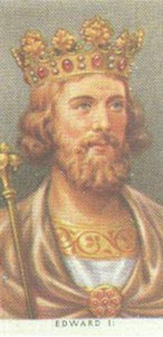 Edward II reigns King of England